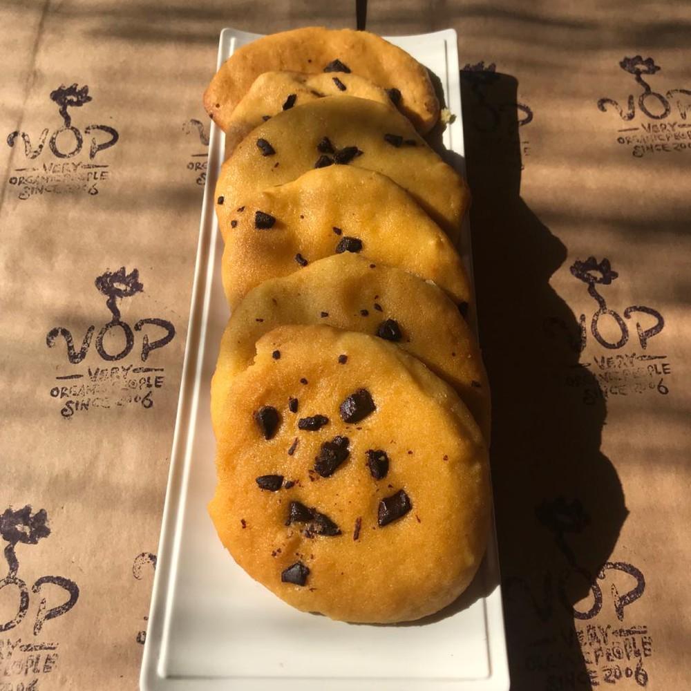 Keto galletón de almendra con chips de chocolate unidad de 25g