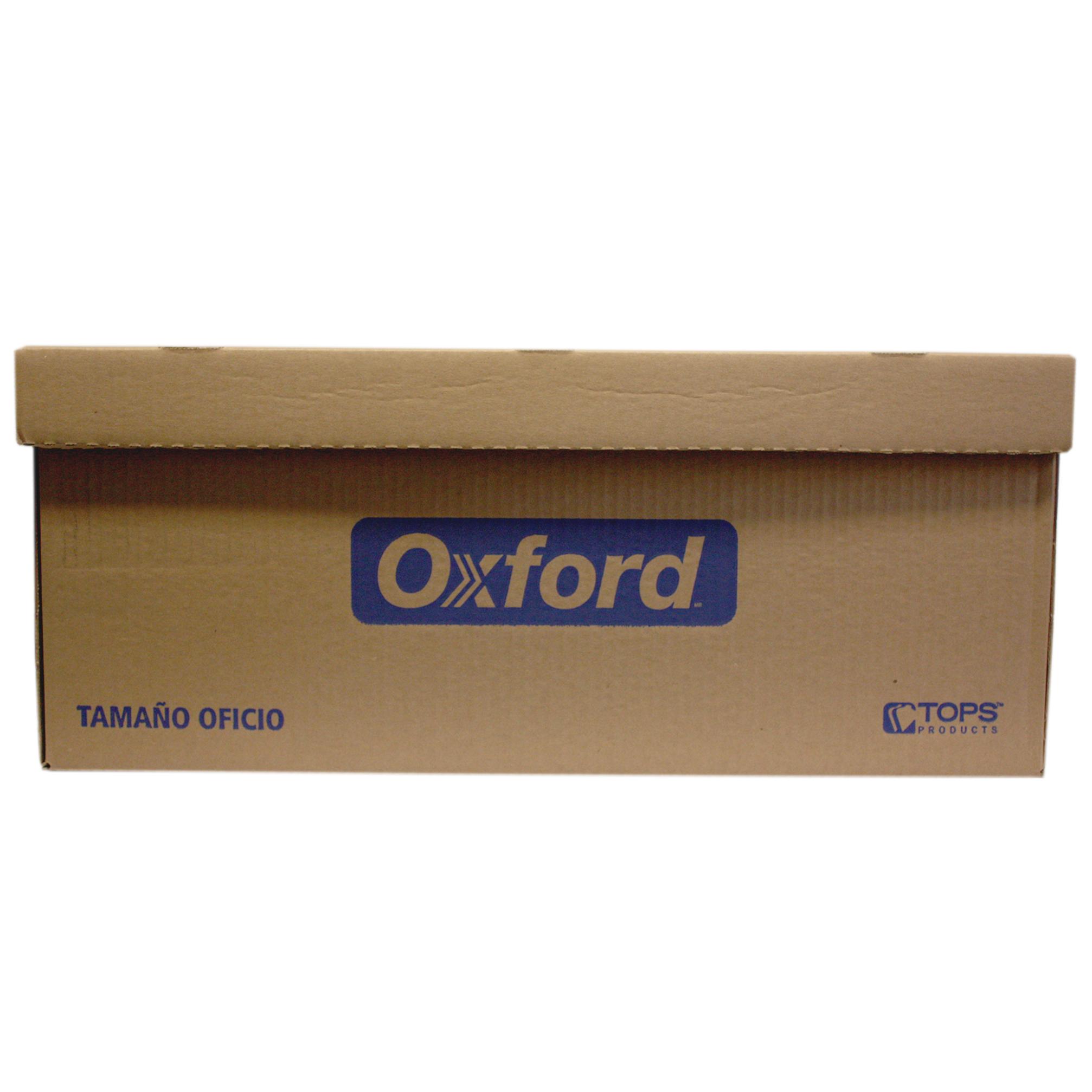 CAJA DE ARCHIVO OFICIO OXFORD RESISTEMCIA 7 KILOS - Caja De Archivo Oficio Oxford Pieza