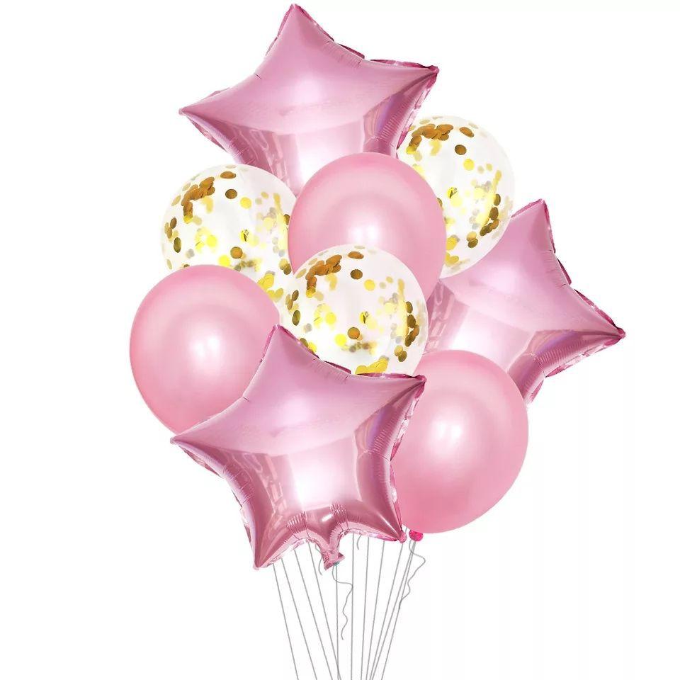 Set de globos 10 un
