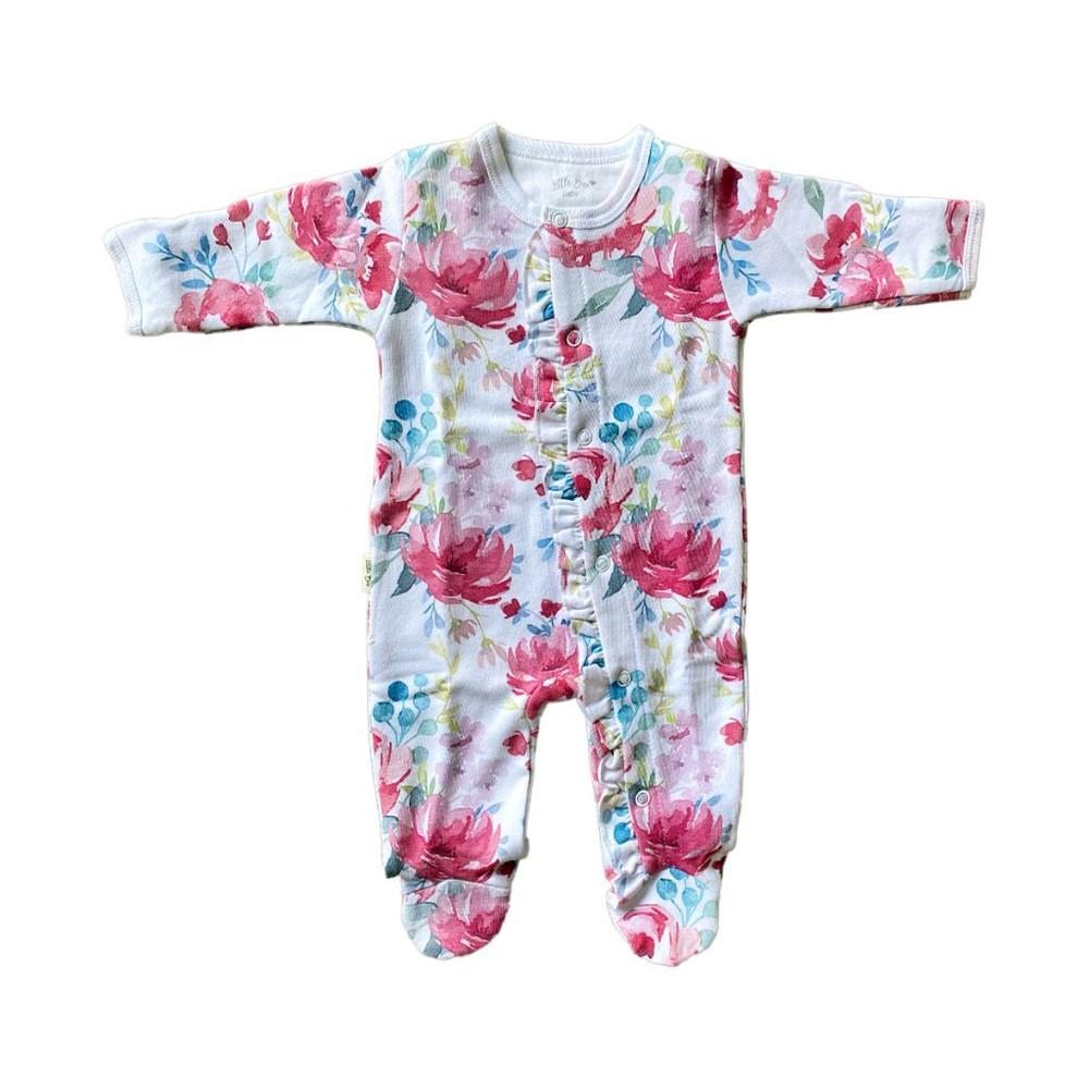 Pijama baby vintage rose winter 0-3 meses