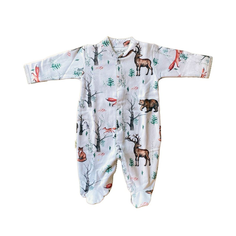 Pijama baby forest winter 0-3 meses