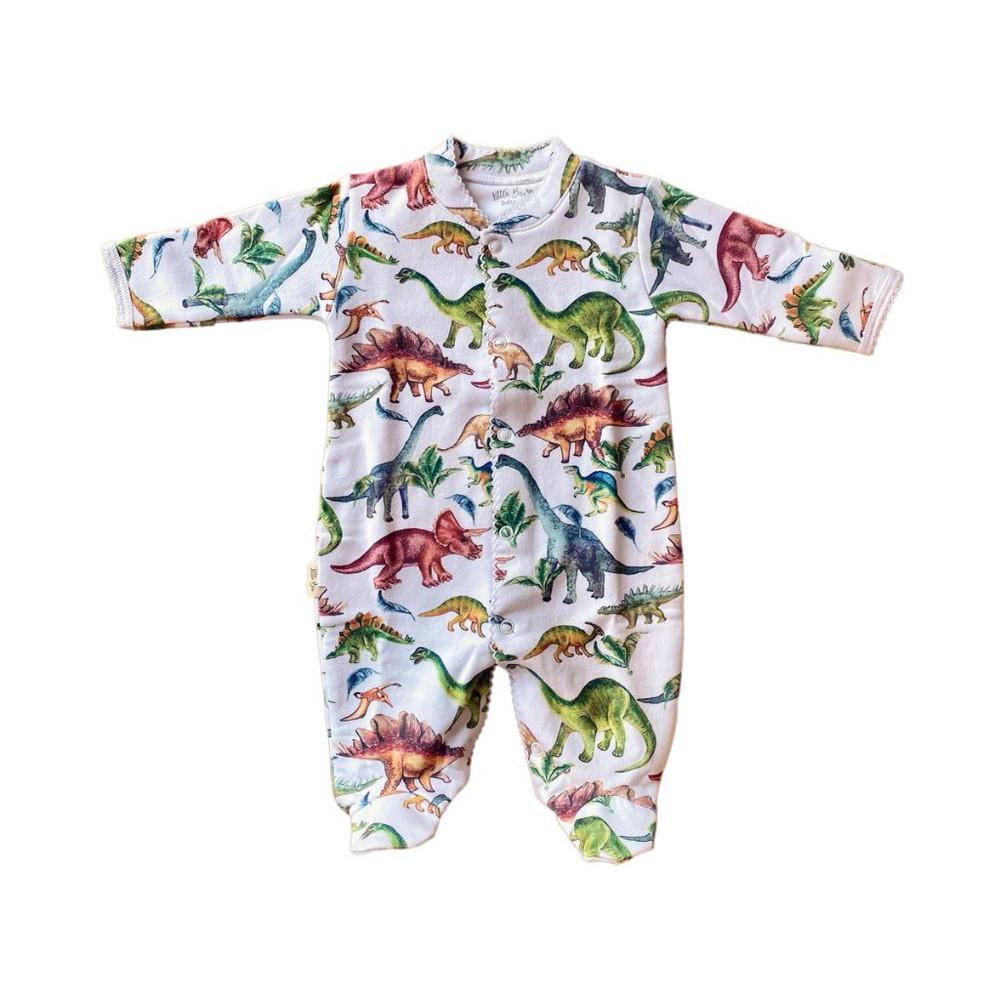 Pijama baby dinos winter 0-3 meses