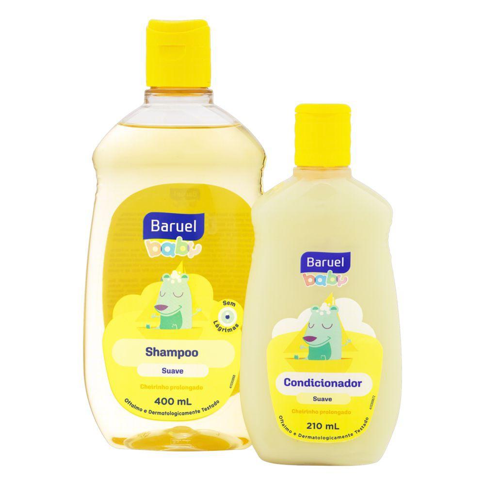 Shampoo suave + condicionador suave