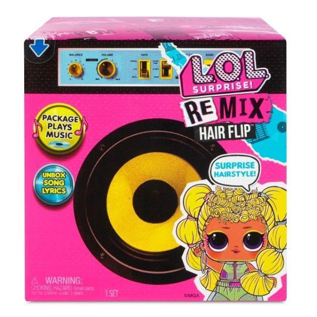 Remix hairflip tots pdq 12x12x11