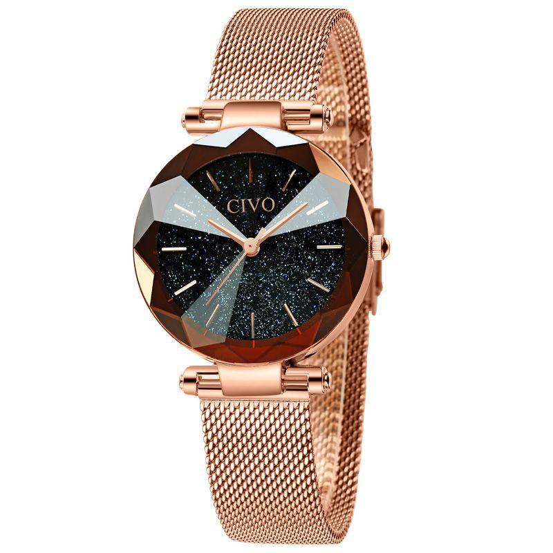 Reloj fashion mujer cristales 33 mm