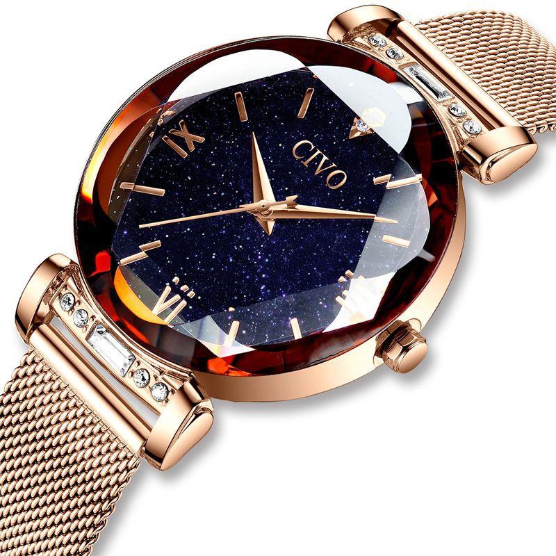 Reloj fashion mujer cristales 34 mm