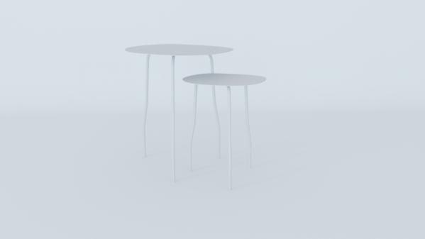 Mesas lateral rita blanca