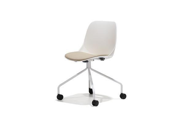 Silla de escritorio quick blanca