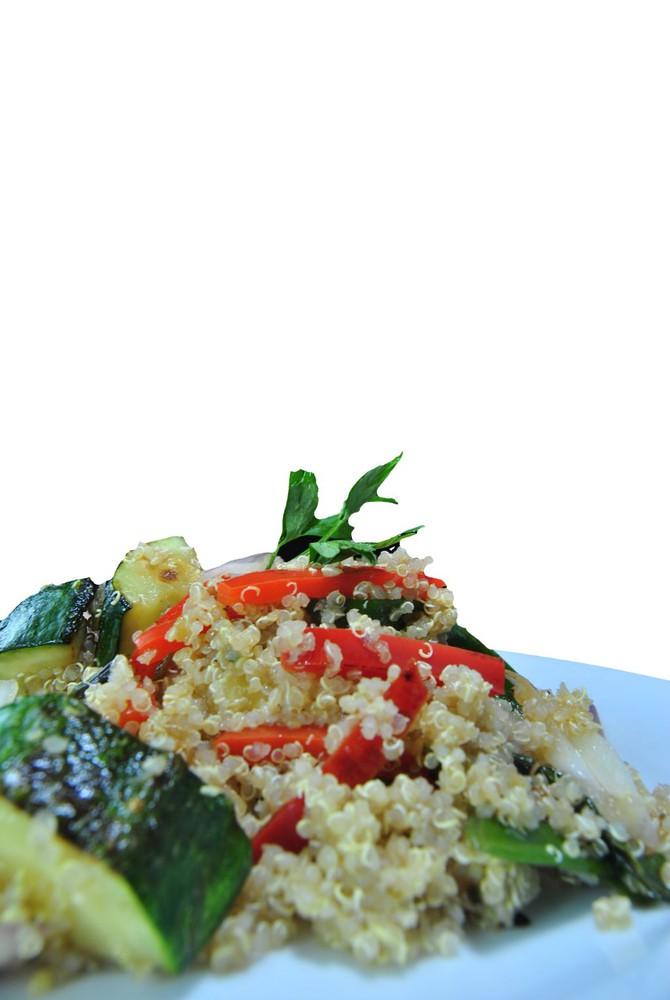 Quinoa mediterránea vegana Palto individual