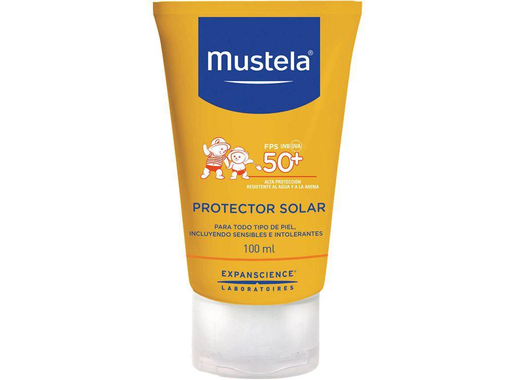Protector solar muy alta protección