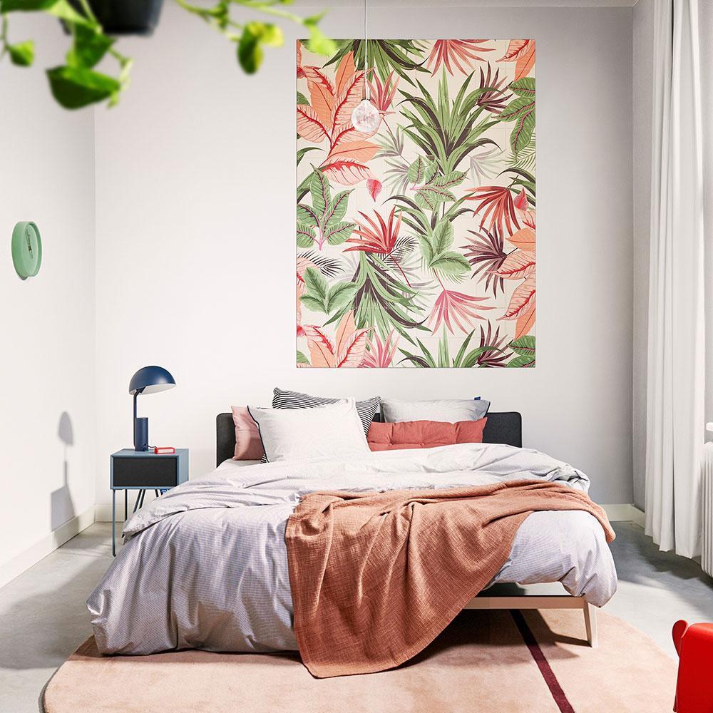 Mural ixxi pink jungle - Large