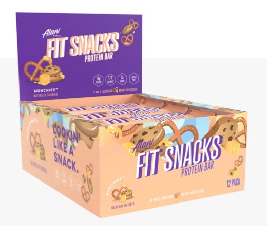 Fit snacks protein bar - munchies