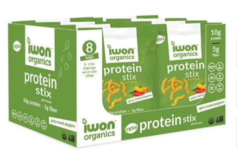 Protein stix spicy sweet peppers