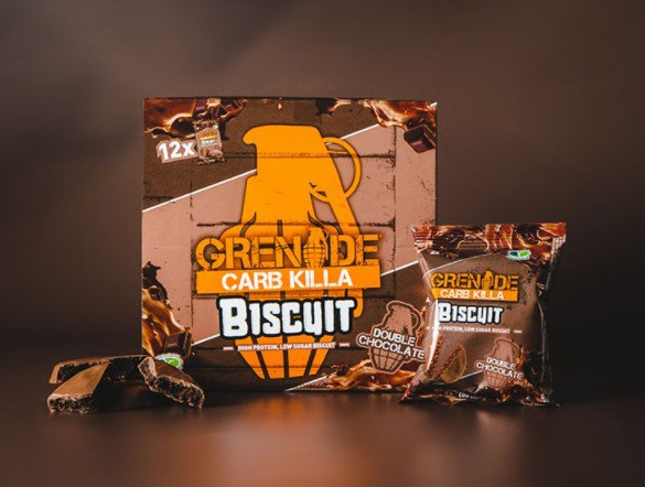 Carb killa protein biscuit double chocolate