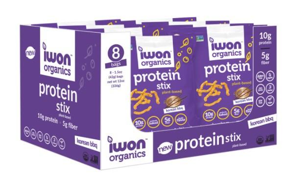 Protein stix korean bbq