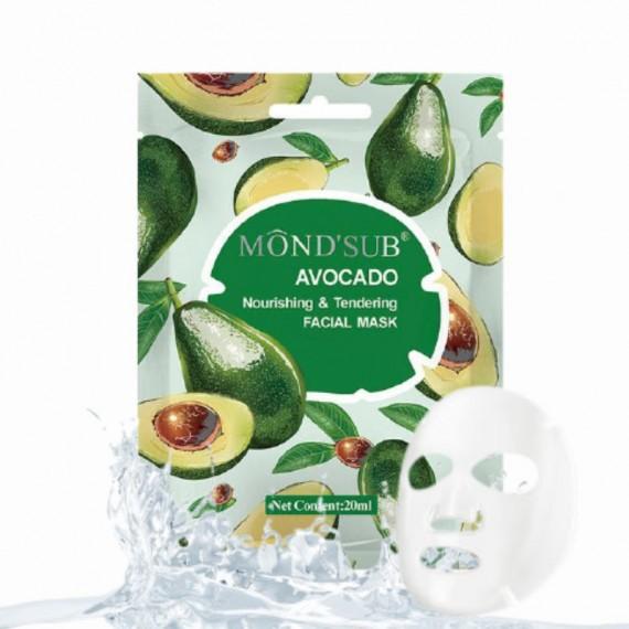 Facial mask avocado-mond'sub 5 pcs x 20ml