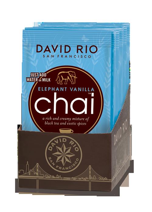 Elephant vainilla chai - sachets 12 unidades