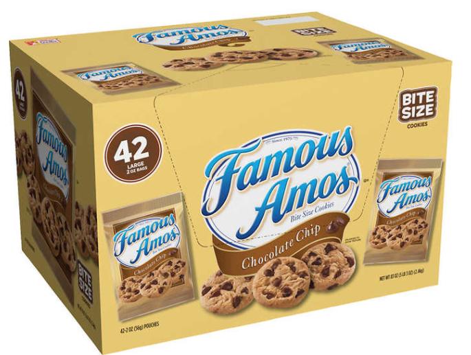 Famous Amos - Galletas de chocolate