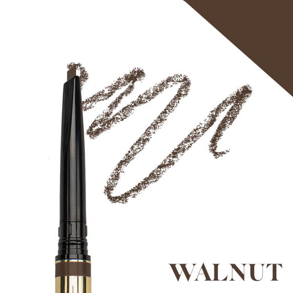 Precision brow pencil - walnut