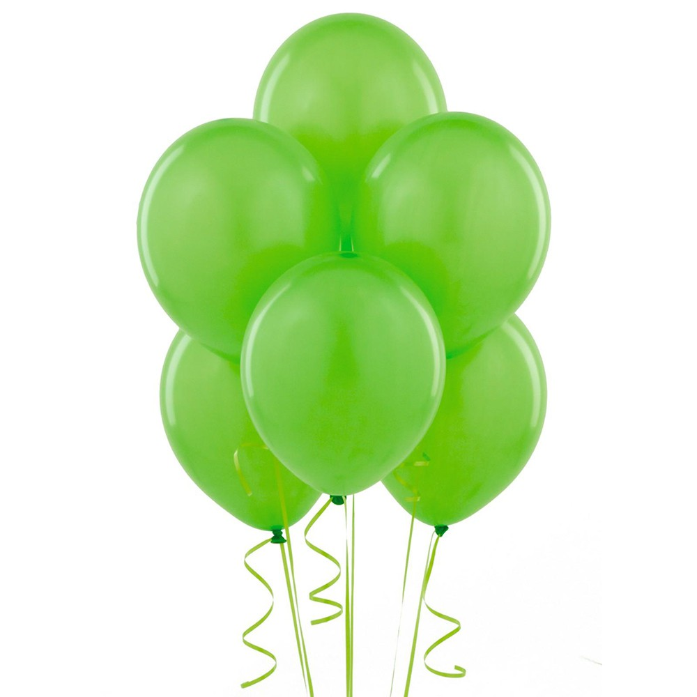 Globo liso #9 verde lima