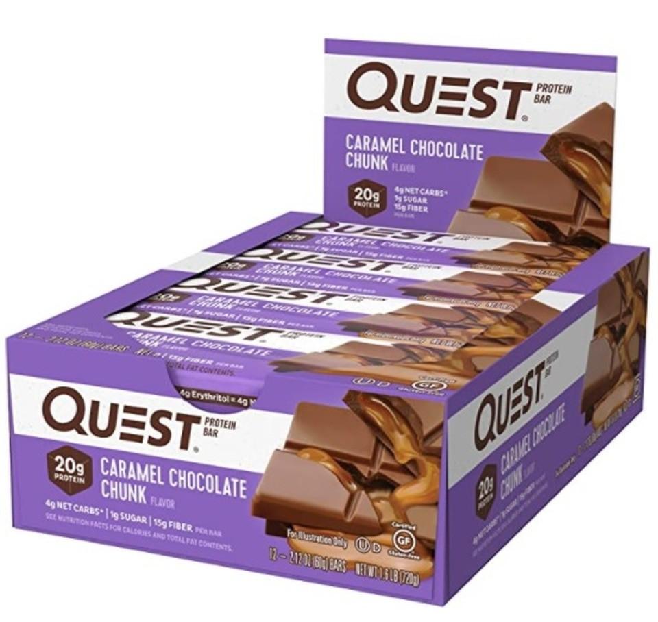 nutriti- protein bar  - caramel chocolate chunk
