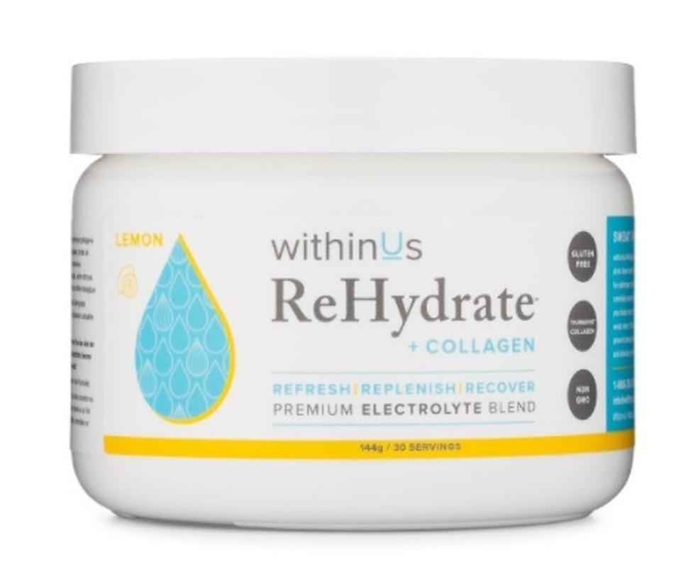 rehydrate +  collagen powder