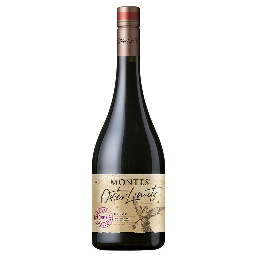 Montes outer limits premium syrah 750 ml Botella 750 ml