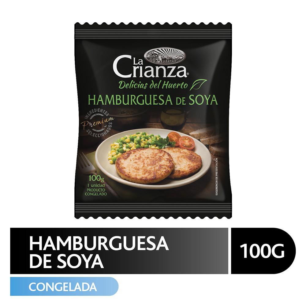 Hamburguesa de soya 100 g