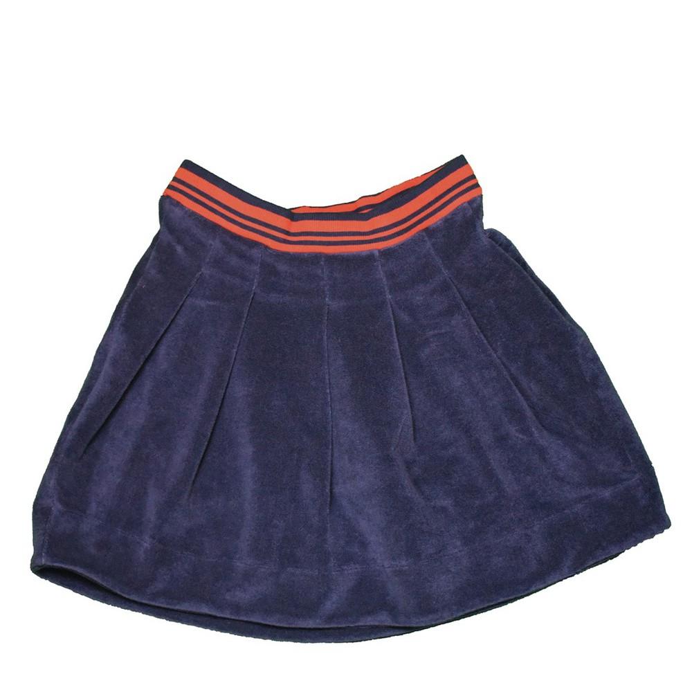 Falda tennis - moromini - blue terry