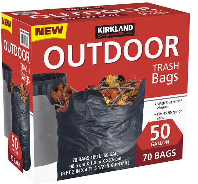 Bolsa de basura outdoor