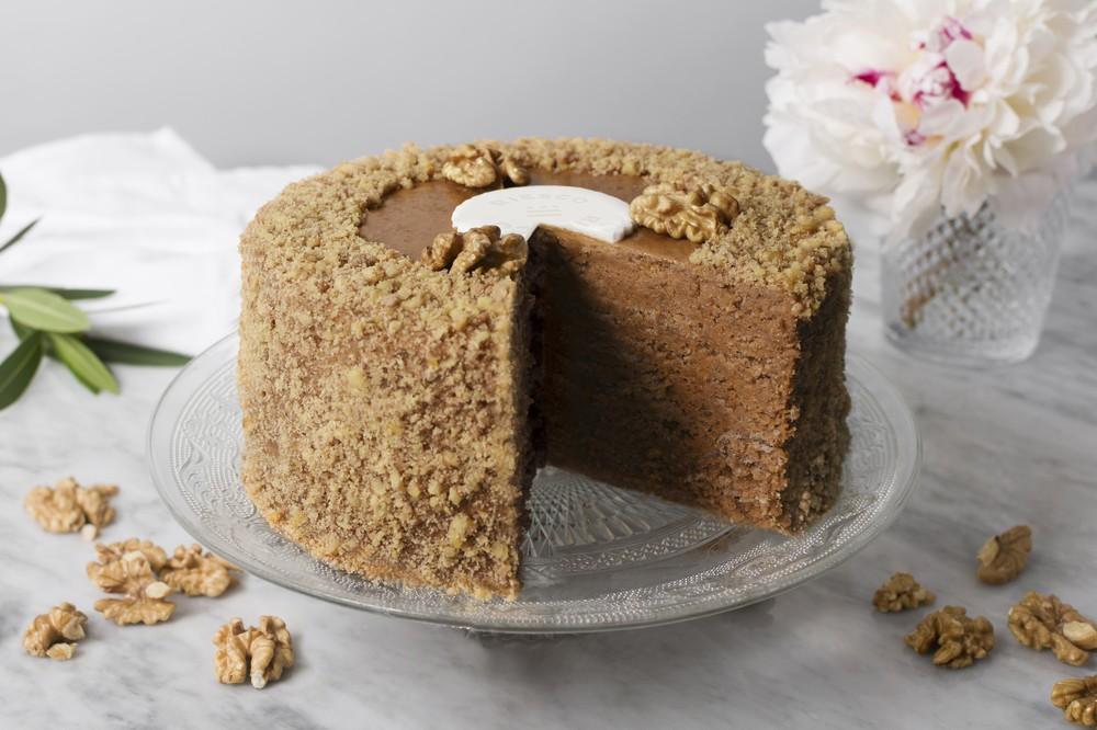 Torta nuez manjar 10p 1 un