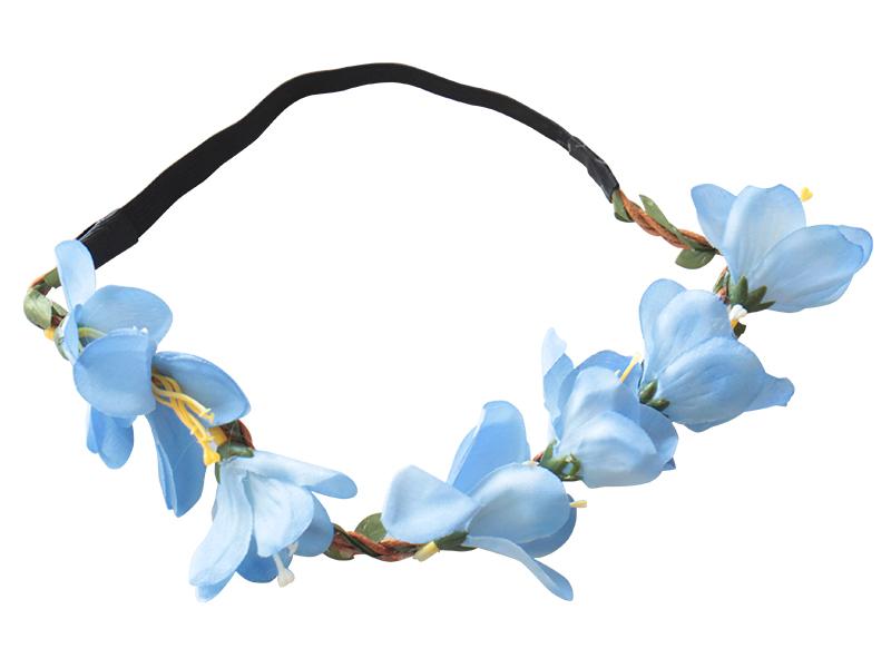 Cintillo flores 8 elasticado