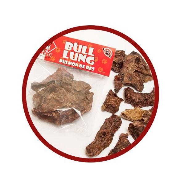 Pulmón de res snacks para perros my pet r 60 g