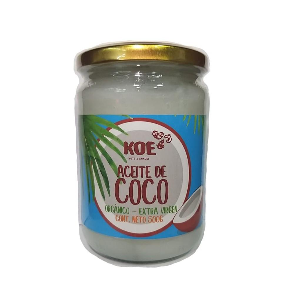 Aceite de coco organico extra virgen