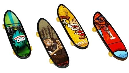 Skate para dedos