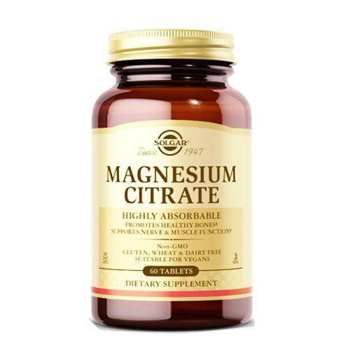 Citrato de magnesio Frasco 60 tabletas