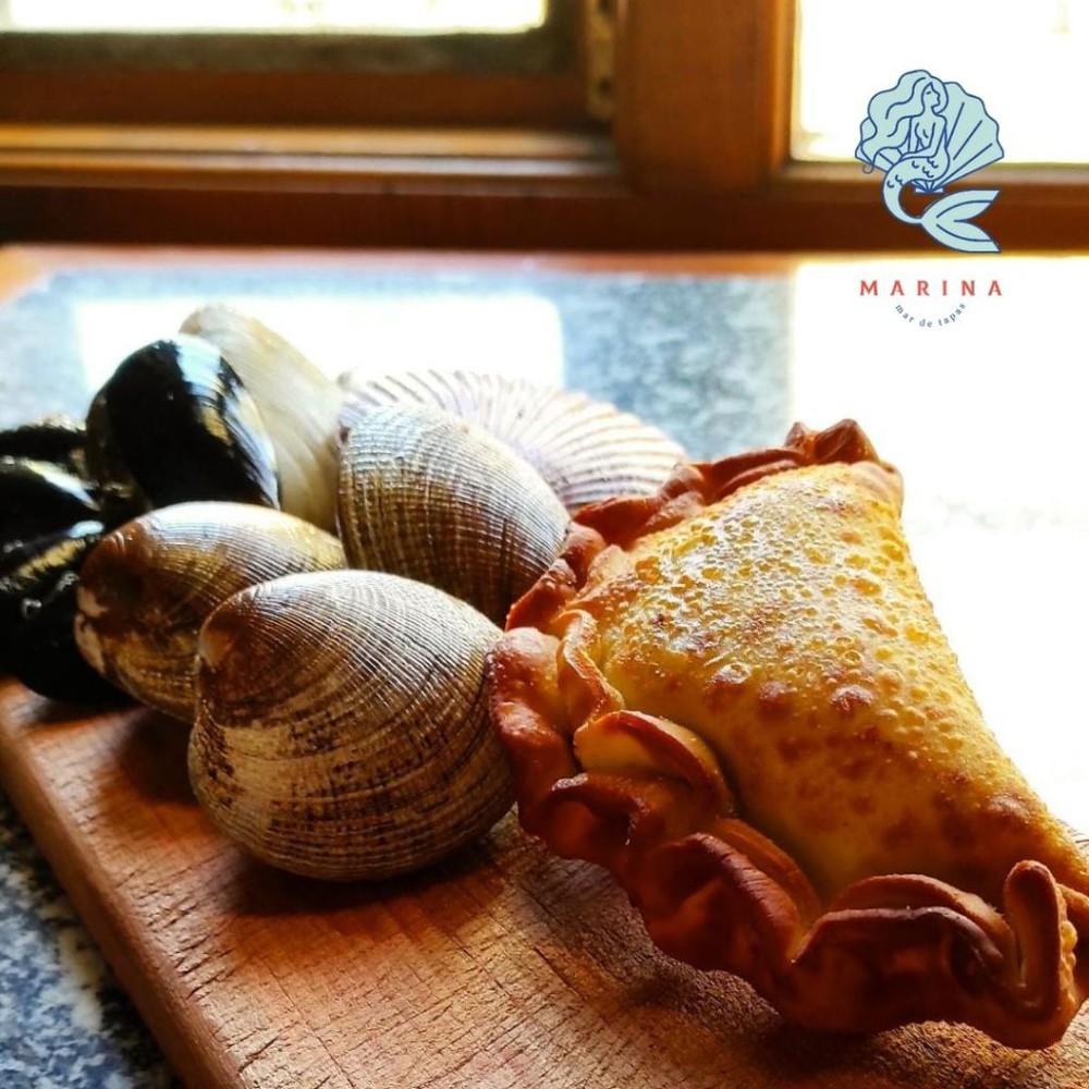 Empanadas de mariscos 500gr