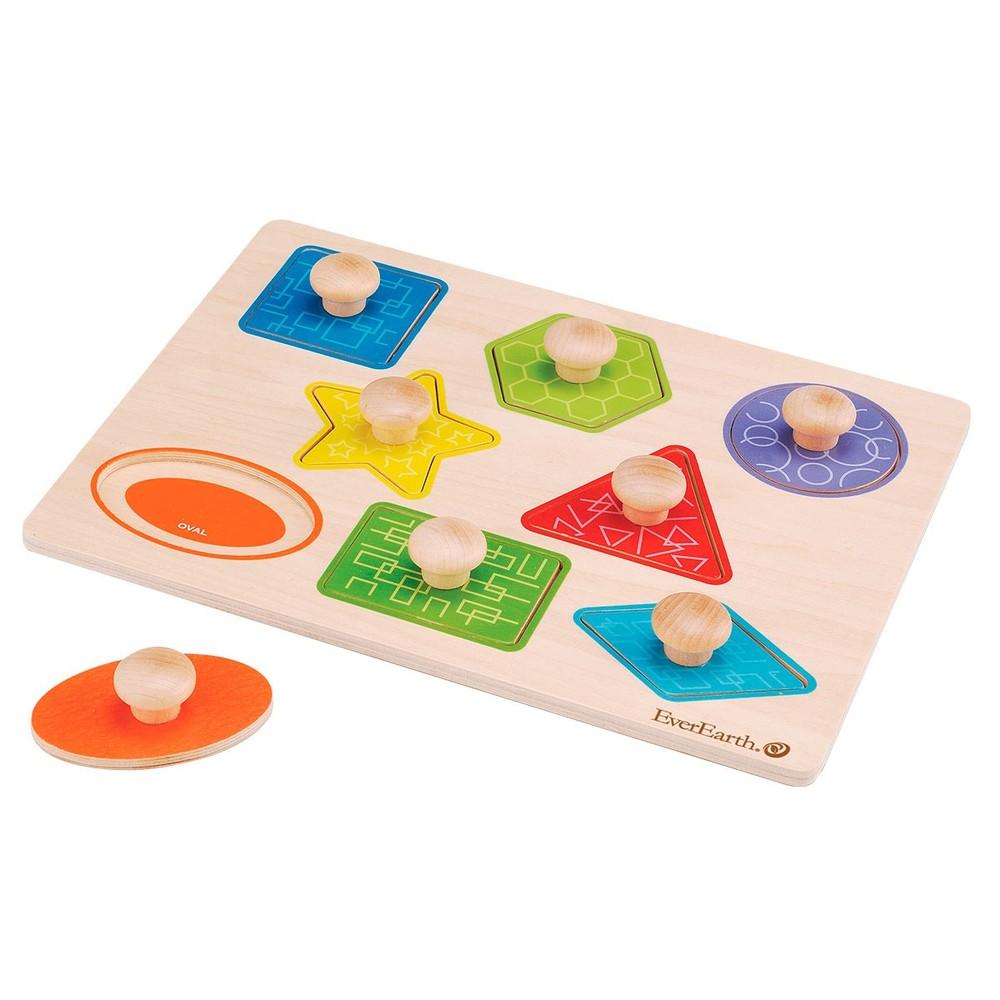 """Puzzle de encaje """"Geométrico"""""""