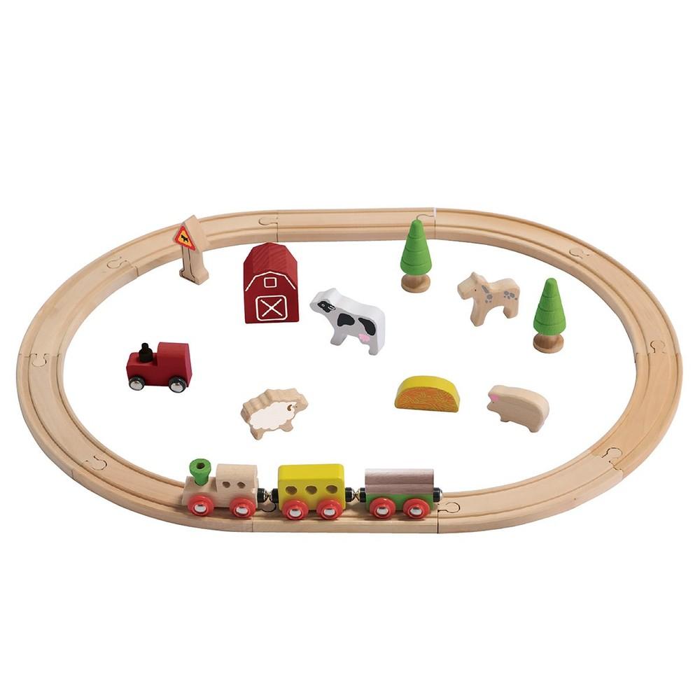 "Kit de tren ""Granja"" Caja 25 piezas"