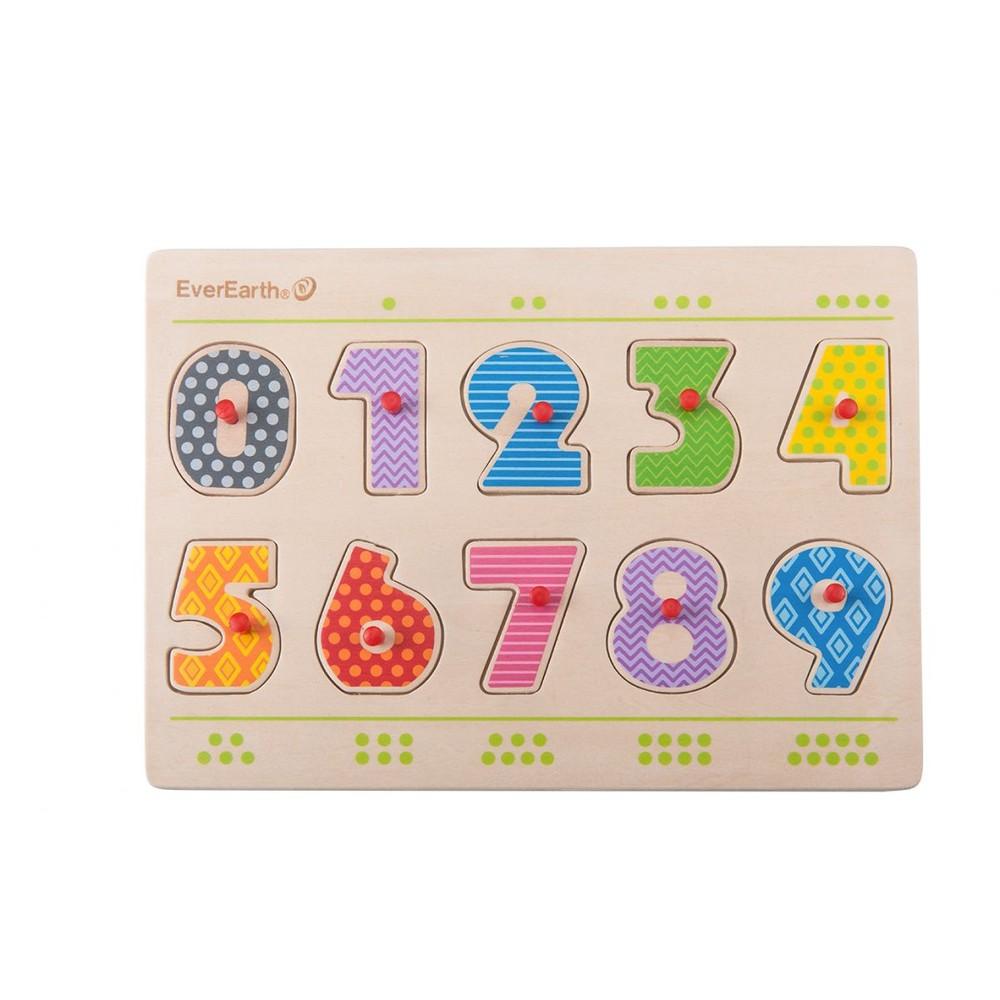 """Puzzle de encaje """"Números"""""""