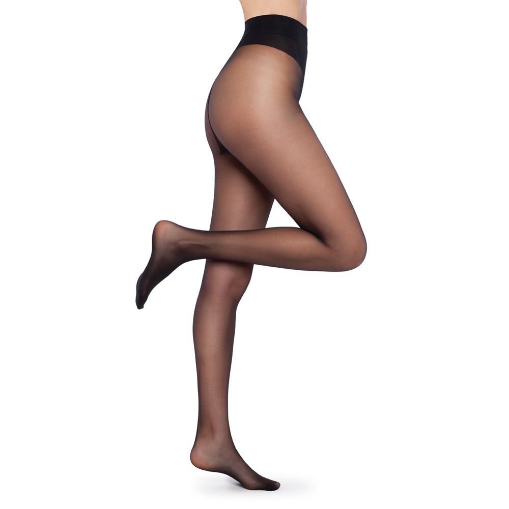 Panty 3d cintura invisible negro Talla 4