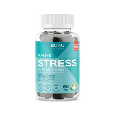 Suku no sugar buh bye stress 60 gummies 132g