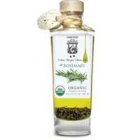 Organic rosemary infused extra virgin olive oil