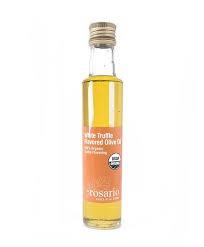 Organic white truffle olive oil