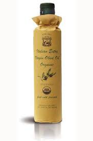 Organic first cold pressed extra virgin olive oil