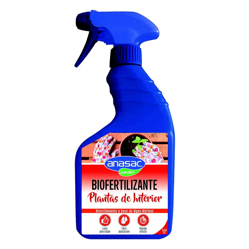 Biofertilizante para plantas de interior Botella con Gatillo 500 ml