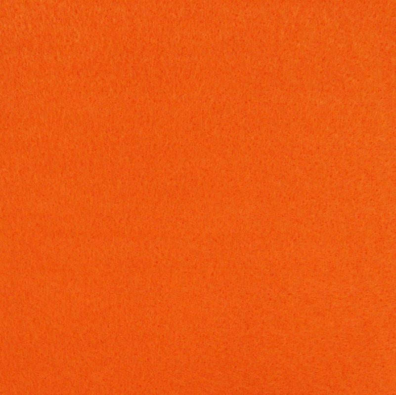 Rainbow felt - orange 1meter