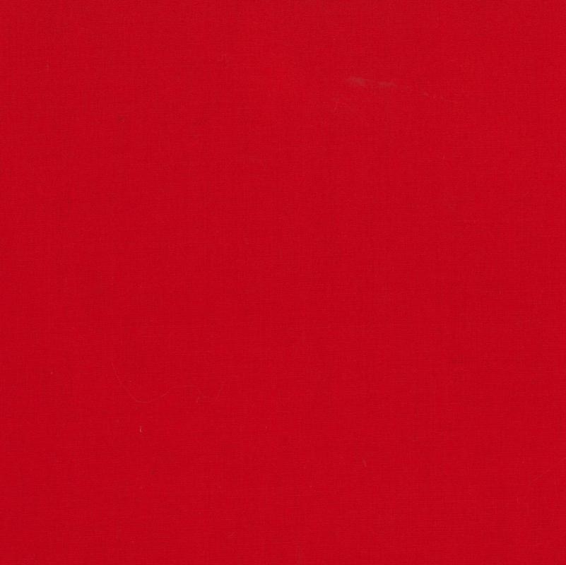 Broadcloth - red 1meter
