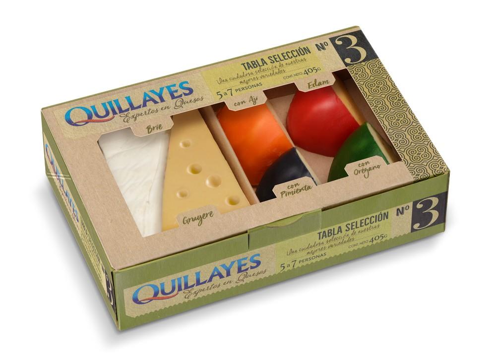 Tabla de quesos selección 3