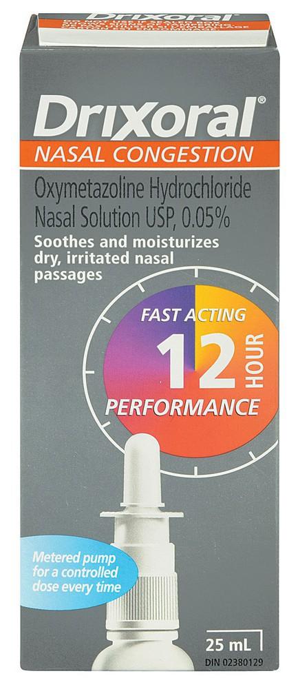 Nasal congestion 12hr 250 mL